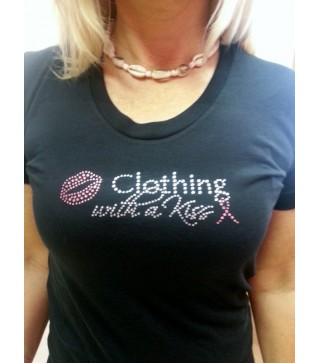 Women's T-Shirt Limited Edition PINK logo with PINK ribbon