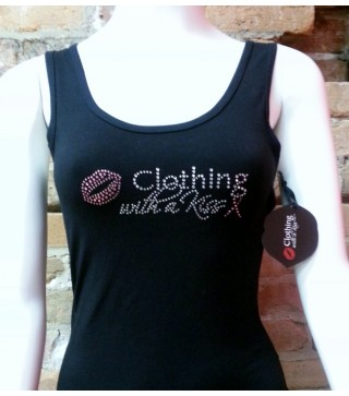 Women's Tank Limited Edition PINK logo with PINK ribbon